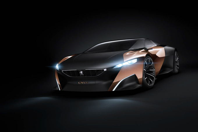 Gamintojo nuotr./Peugeot Onyx