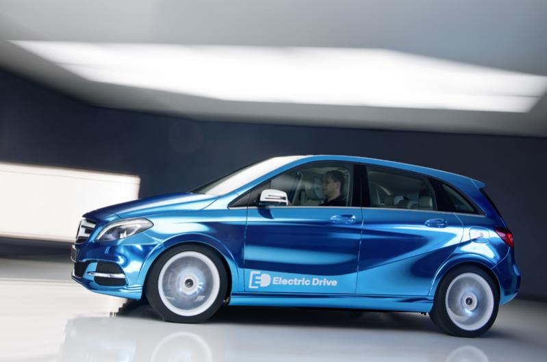 Elektra varomas B klasės Mercedes-Benz