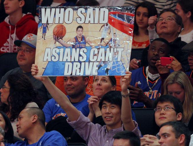 Reuters/Scanpix nuotr./Niujorko Knicks gerbėjas
