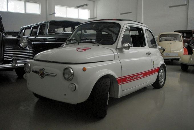 Tomo Digaičio/GAZAS.LT nuotr./Abarth 695 - the sporty version of Fiat 500