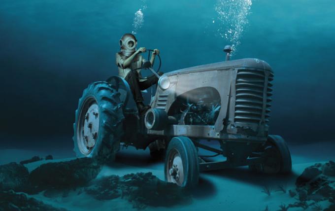 Transporto priemonė po vandeniu