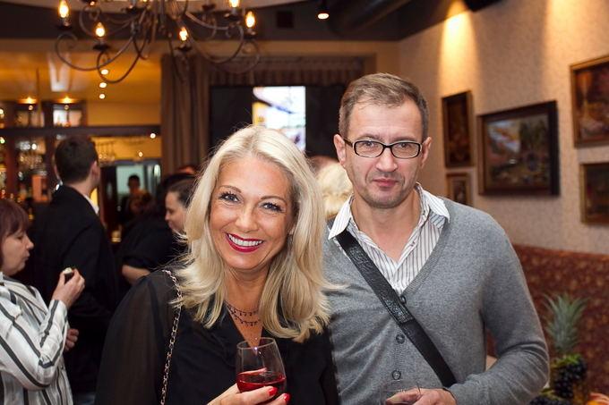 Viganto Ovadnevo nuotr./Gražina Baikatytė su bičiuliu Piotru