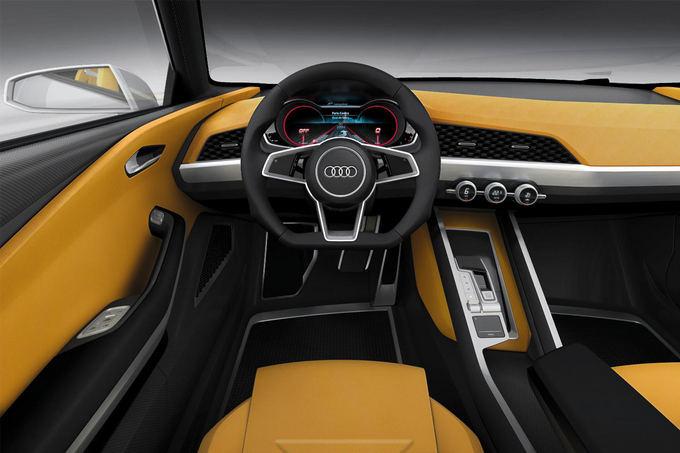 Gamintojo nuotr./Audi Crosslane Coupe Concept