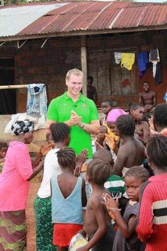 UNICEF nuotr./Jevgenijus `uklinas Siera Leonėje