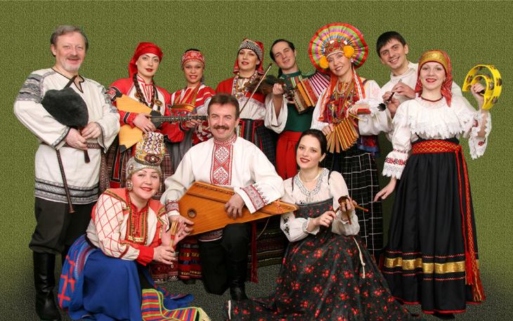 """Rolklorinis ansamblis """"Rossiči"""""""