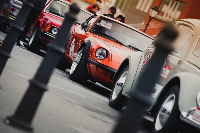 Organizatorių nuotr./Datsun 280z Telaiuose