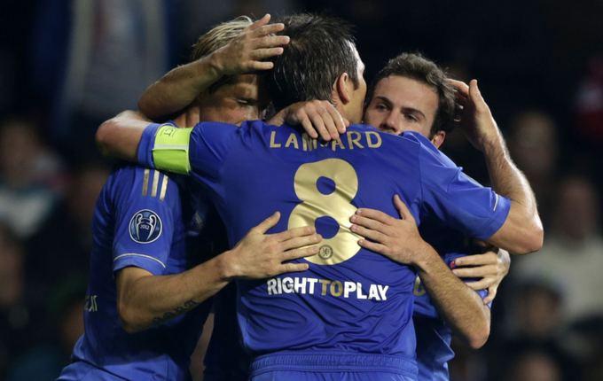 AFP/Scanpix nuotr./Chelsea avenčia Juanos Mato įvartį