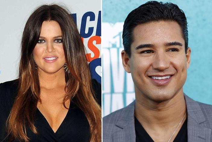 Khloe Kardashian ir Mario Lopezas