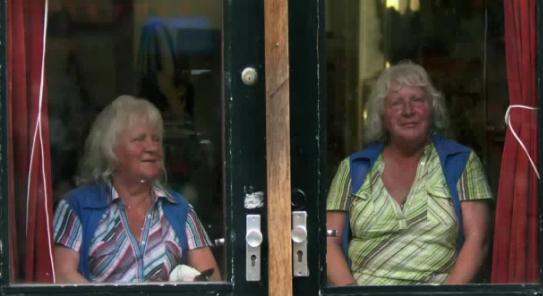 Martine ir Louise Fokkens laikomos seniausiomis Amsterdamo prostitutėmis.