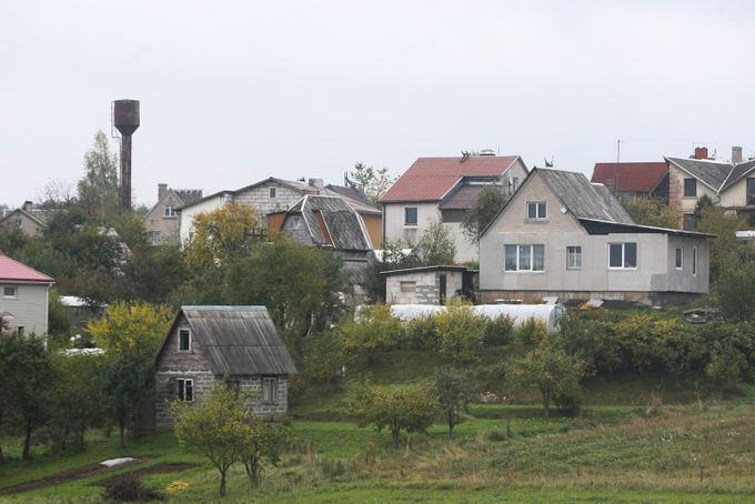Juliaus Kalinsko/15 minučių nuotr./Buvę sodai tapo gyvenamųjų namų kvartalais