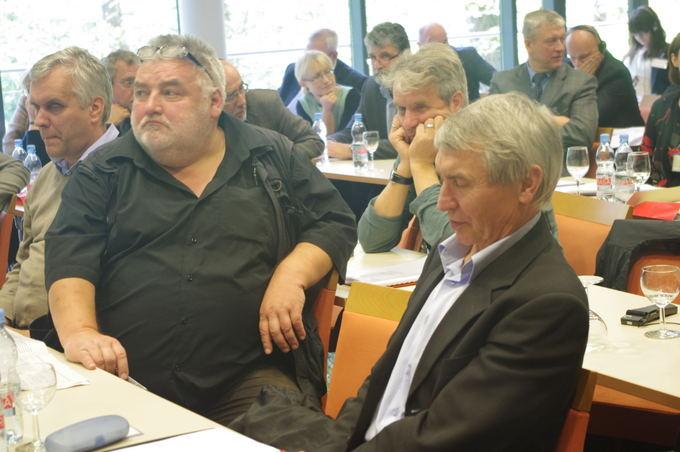 Monikos Baltruaaitytės nuotr./Jerzy Giedroyco dialogo ir bendradarbiavimo forumo suvažiavime Druskininkuose diskutuota apie Lietuvos ir Lenkijos santykių perspektyvas.