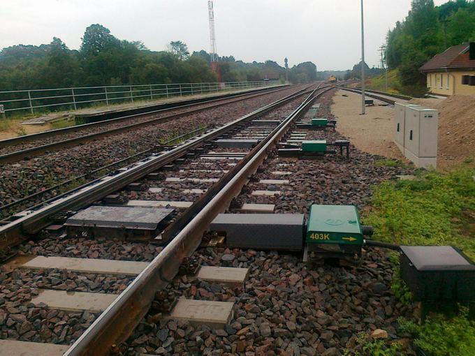 AB Panevėžio keliai nuotr./Jiesios geležinkelio stotis