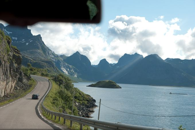 Keliautojų nuotr./Norvegijos keliukai aplink fjordus