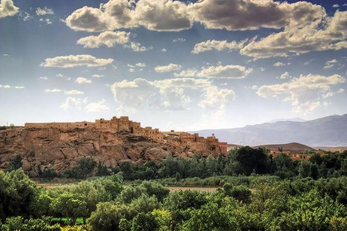 123rf.com nuotr./Atlaso kalnų panorama