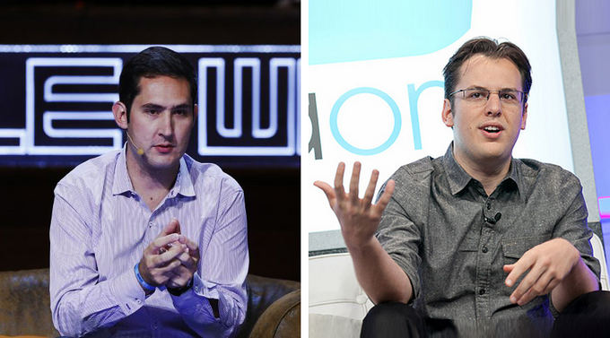 Scanpix nuotr./Kevin Systrom ir Mike Krieger