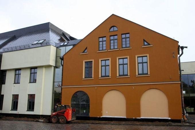 Pamario restauratoriaus nuotr./Rekonstruotas dramos teatro fasadas