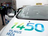 Vilniaus sav. nuotr./Municipalinio taksi automobiliai
