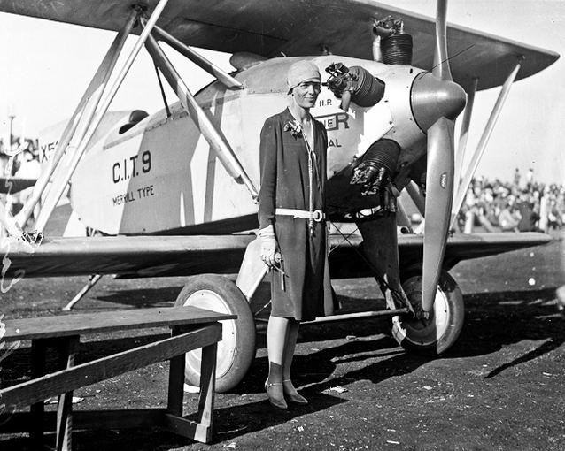 Wikimedia.org nuotr./Amelia Earhart, 1928m.