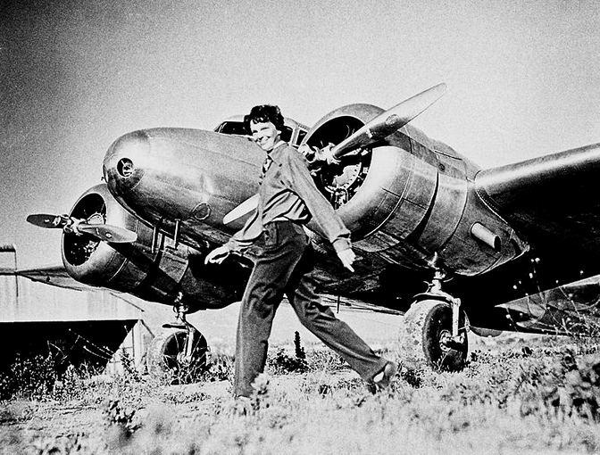Wikimedia.org nuotr./Amelia Earhart