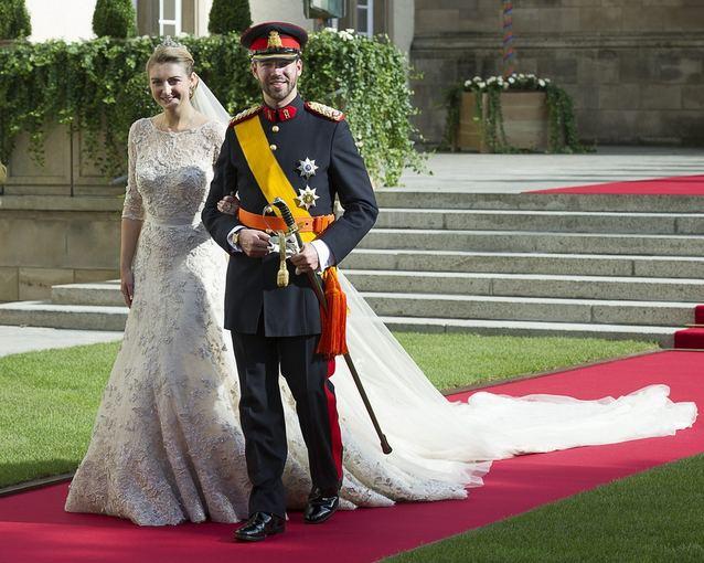 Scanpix nuotr./Didysis kunigaikatis Guillaume'as ir kunigaikatienė Stephanie