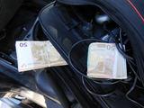 MKT nuotr./Nedeklaruoti pinigai