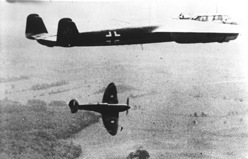 Britų lėktuvai Britanijos mūšyje