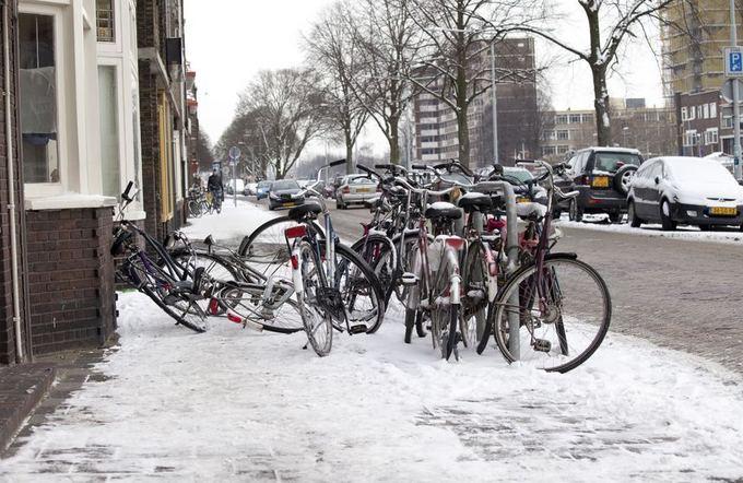 Dviračiai Groningene