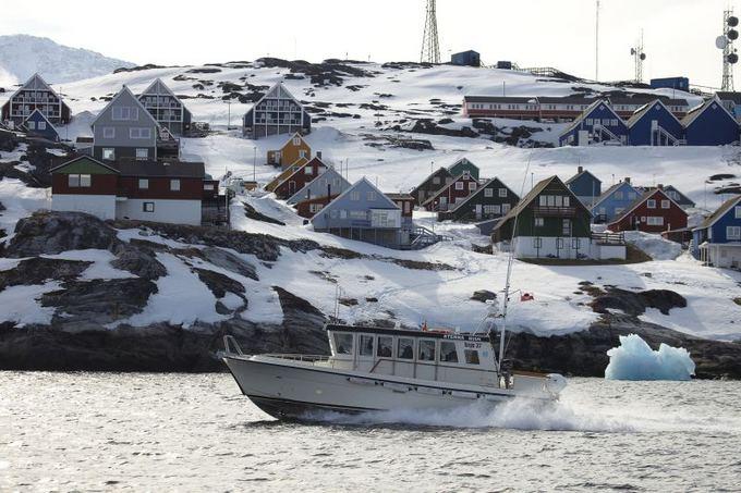 Scanpix nuotr./Grenlandijos sostinė Nukas
