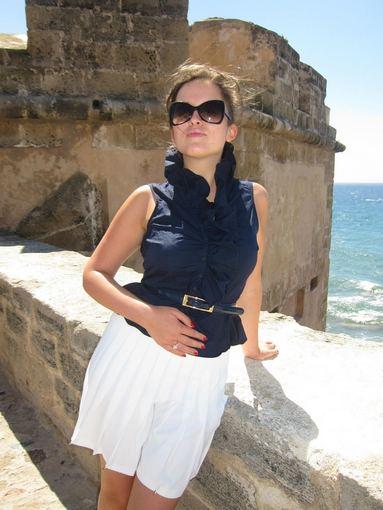 Mariaus Žičiaus nuotr./Marija Palaikytė atostogų Sardinijoje metu