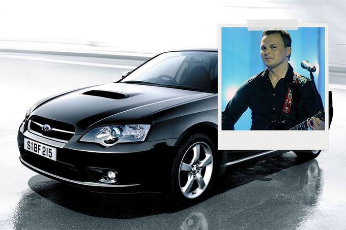 GAZAS.LT montažas/E.Leakevičius mėgaujasi Subaru Legacy