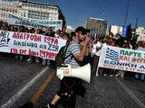 """AFP/""""Scanpix"""" nuotr./Streikas Graikijoje"""
