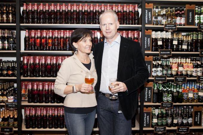 Rolandas Virailas su žmona Aukse