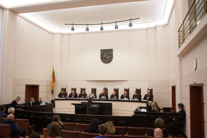 15min.lt/Juliaus Kalinsko nuotr./Konstitucinio Teismo teisėjai