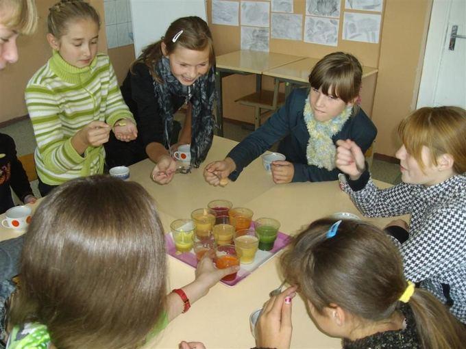 Organizatorių nuotr./Tauragės rajono Žygaičių gimnazijos mokiniai mini sveikos mitybos dieną
