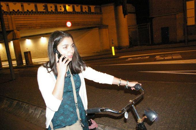 Medeinos Čijauskaitės nuotr./Olandiakas užimtumas ant dviračio