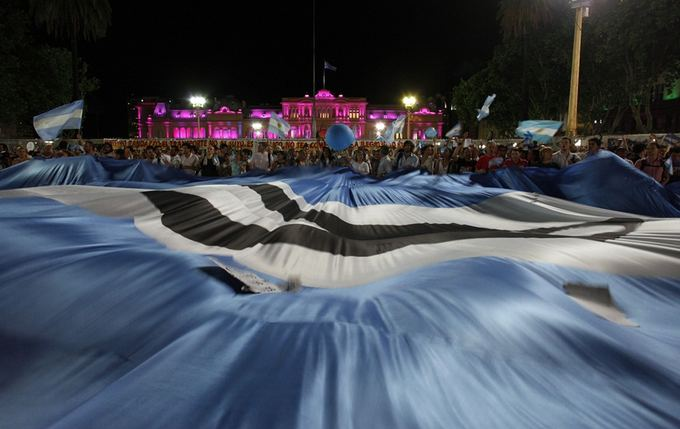 Reuters/Scanpix nuotr./Protestas Buenos Airėse