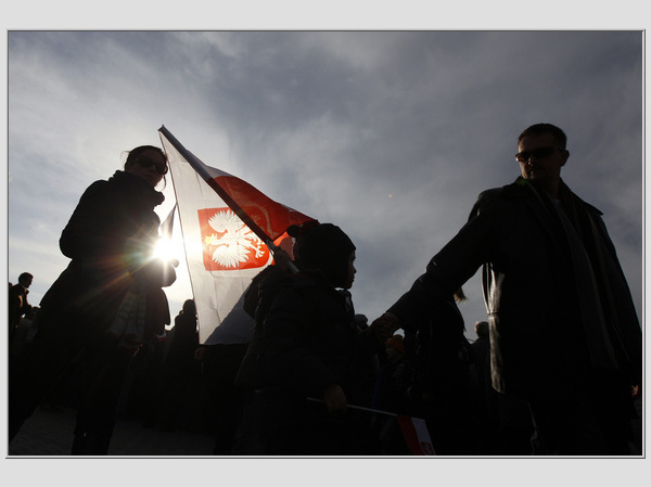 Nepriklausomybės diena Varšuvoje, oficialios iškilmės vidurdienį