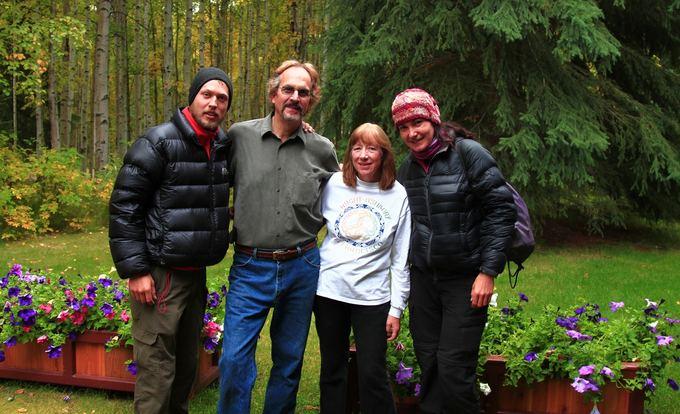 Evelinos ir Karolio nuotr./Mus pavežęs ir netikėtai į namus pasivadinęs Fairbanks miestelio gyventojas