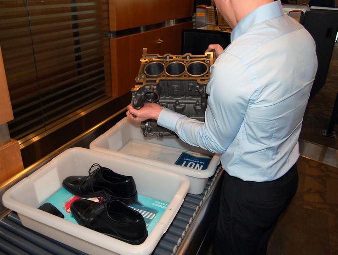 Gamintojo nuotr./Ford 1,0 l Ecoboost variklis gabenamas į Los Andželo automobilių parodą