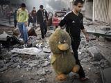 "AFP/""Scanpix"" nuotr./Gazos Ruožas po Izraelio oro atakos"