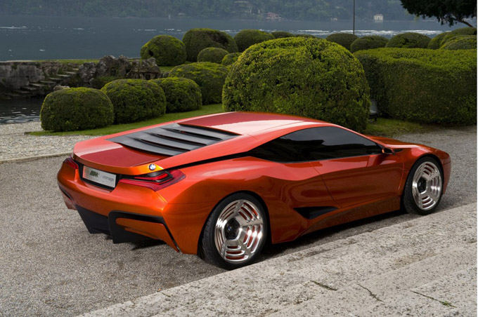 Gamintojo nuotr./BMW M1 Hommage Concept
