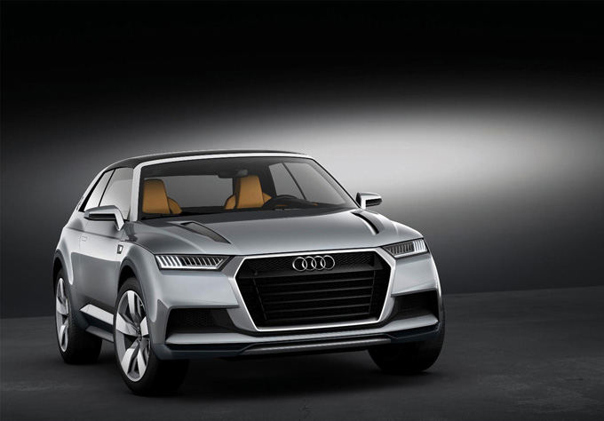 Gamintojo nuotr./Audi Crosslane Coupe