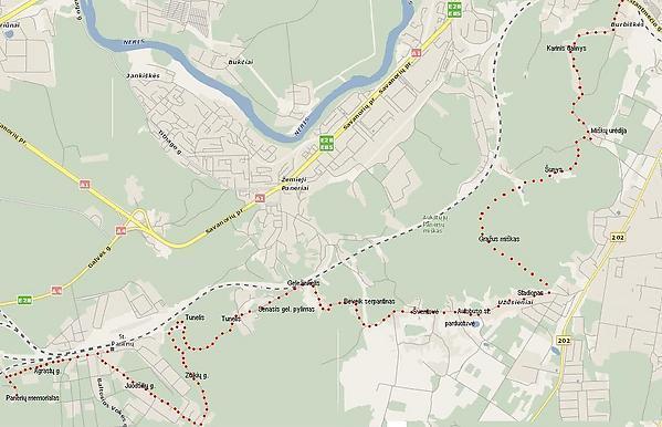 Liudo Basiulio nuotr./Mararutas žemėlapyje