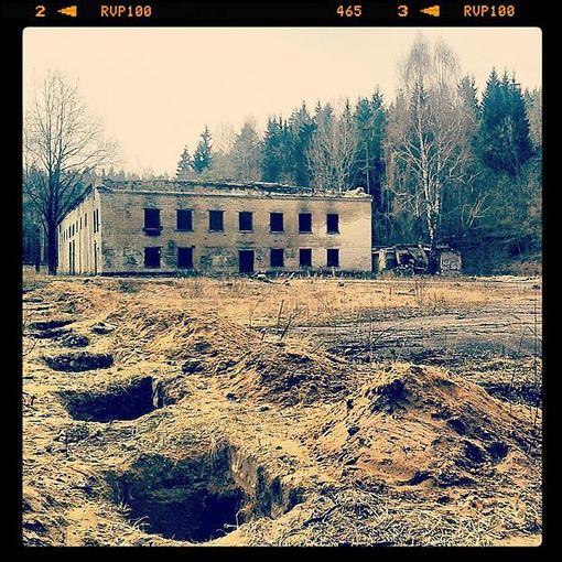 Liudo Basiulio nuotr./Sovietų armijos dalinio teritorija