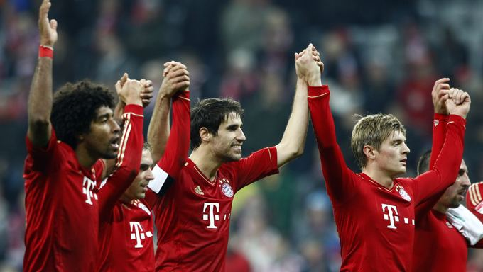 Reuters/Scanpix nuotr./Bayern sutriuakino savo varžovus