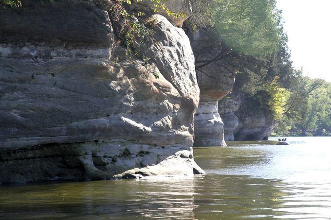 Evelinos ir Karolio nuotr./Ypatingai gražūs Fokso upės krantai