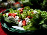 Autorės nuotr. / Braškių salotos su feta