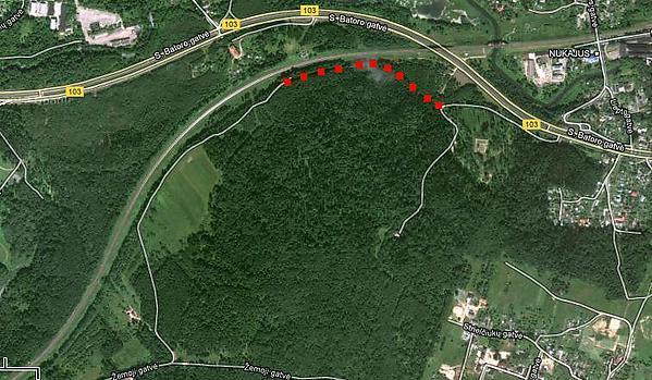 Liudo Basiulio nuotr./Žemėlapis