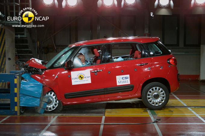 Euro NCAP nuotr./Fiat 500L