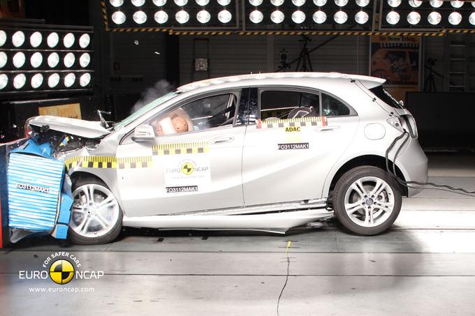Euro NCAP nuotr./Mercedes-Benz A klasė
